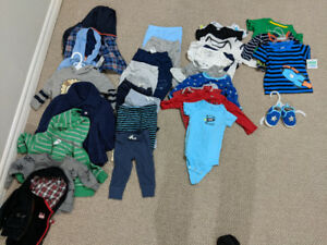 Boys 6-12 Month Clothing Lot - 95 Pieces