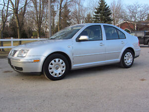 2004 Volkswagen Jetta  TDI , Lowest Km's on Kijiji !