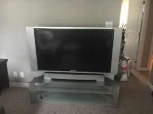 Panasonic TV Projection screen with stand