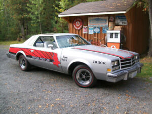 1976 Buick Century with Y43 Indy 500 Pace Car option