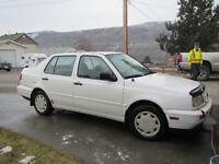1996 Volkswagen Jetta Sedan - Ashcroft, B.C.