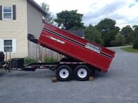 Encore roll off dumpster long weekend special