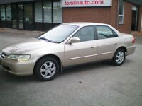 2000 Honda Accord SE Cert. and Etested