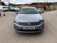 Volkswagen Passat 2.0TDI 140ps BlueMotion Tech Sport 4 DR -2011 61-REG -FULL MOT