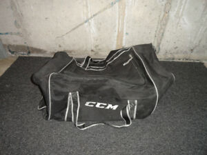 C.C.M. hockey bag.