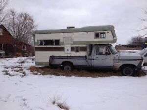 1975 f250 with camper