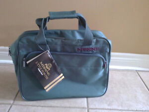 Unisex green luggage bag cabin carry on bag New with tags