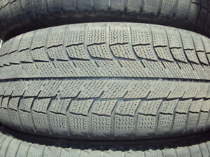 2 Michelin X-Ice Winter Tires P215/60/R16 - $40 for both.