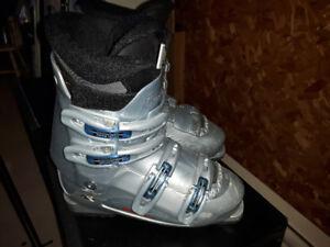 Ski alpin et bottes