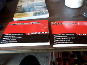 Gas gas user manuals