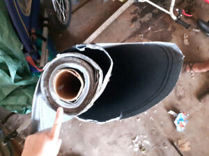 Flat roofing paper