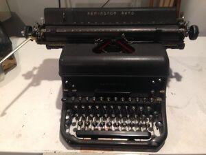 Remington Rand Doehler 2-41024 Typewriter Edmonton Edmonton Area image 1