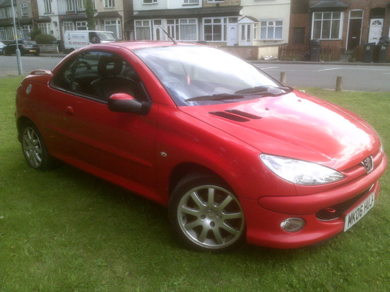 Peugeot 206CC 1.6 16v 2005MY Coupe Cabriolet Allure
