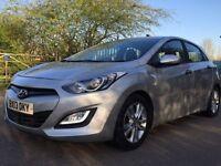 Hyundai i30 1 owner 3 months warranty tax£30 year
