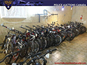 Lot of 45 Assorted Used Bikes