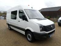 2013 Volkswagen Crafter 2.0TDi MWB, Welfare Unit, Mess Van, Toilet van, 8 seat