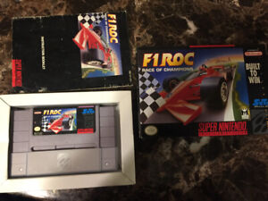 Selling snes boxed games