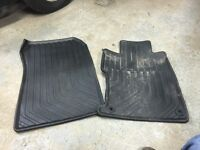 Honda Civic front all weather floor mats