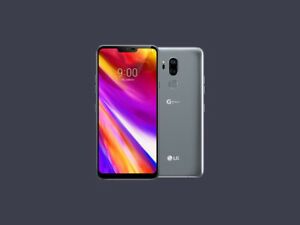 $500 mint condition LG G7 grey 64gb dual cam great display/sound