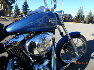 Dyna Wide Glide Custom,New Tires,Stage 1 Performance up grade!!