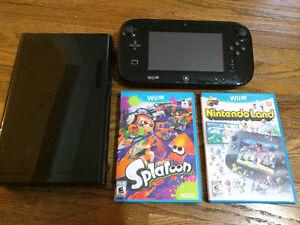 Wii U + Controllers + games