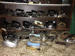 Collection of Antique Iron