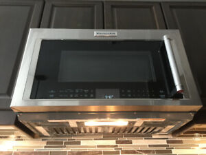 Kitchen Aid Over-the-Range Convection Microwave