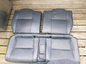 Acura rsx rear leather seats