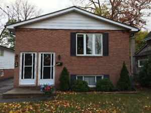 Large 3 bedroom lower level duplex unit with dining room