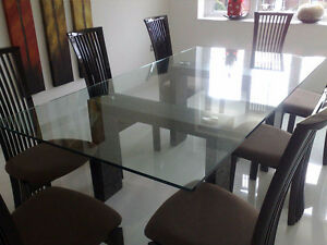 Glass Table Top for Dining Table
