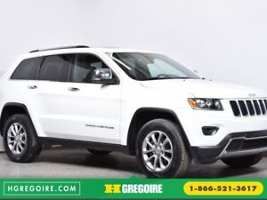 2016 Jeep Grand Cherokee Limited Toit ouvrant