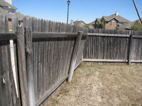 FENCE,DECK,SIDING AND CONSTRUCTION DEBRIS,GARBAGE REMOVAL