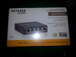 Netgear 5 port Ethernet Switch