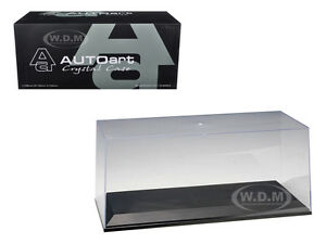 ACRYLIC DISPLAY SHOW CASE FOR 1/18 DIECAST MODEL CARS AUTOART 90001/90003
