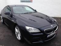2012 62 BMW 6 SERIES 3.0 640D M SPORT 2D AUTO 309 BHP DIESEL PX/FINANCE