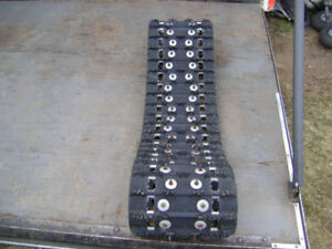 "LIKE NEW!!! 120"" X 15"" x 1""(2.86 pitch) STUDDED SKI-DOO TRACK"