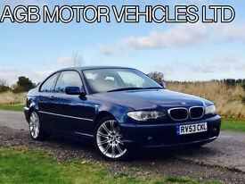 *** BMW 318 COUPE E46 M-SPORT OPTIONS M SPORT ALLOYS FULL LEATHER INTERIOR ***