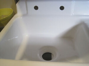 Newly refinished cast iron kitchen sink St. John's Newfoundland image 3