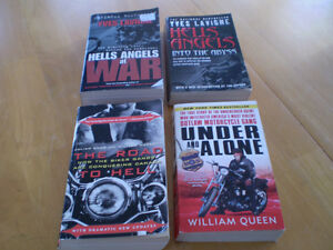 HELLS ANGELS BOOKS AND THE MONGOLS MOTORCYCLE GANG