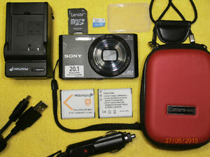 SONY SUPER COMPACT W830 20.1MP   BITCOIN ACCEPTED