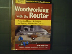 Books on Routers Stratford Kitchener Area image 1