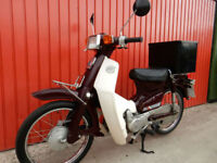 HONDA C50 SUPER CUB 4 SPEED 1990 WITH ELECTRIC START GREAT PERFORMANCE