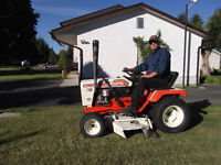 Simplicity  yard tractorC/w mower and snowblower