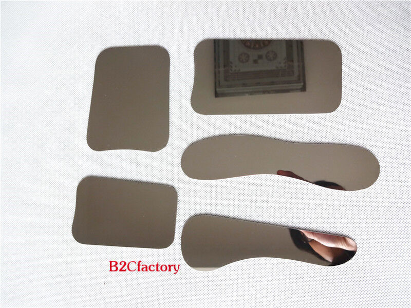 5PCS  Dental Orthodontic Intraoral Photographic Stainless Steel Mirrors
