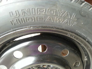 Spare tire with 5 holes rim - T135 /TOR 15 99 M Kitchener / Waterloo Kitchener Area image 2