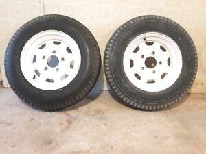 Trailer tires/gas tanks