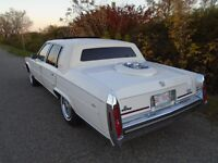 1989 Cadillac Fleetwood Brougham D'Elegance-Only 57,800 KM