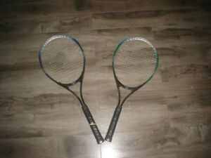 2 tennis rackets for sale