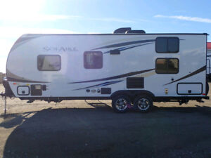 2017 Palamino Solaire 211dbh with 5 years full warranty