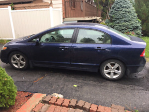 Honda Civic 160 kilos